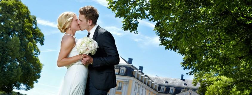Hochzeitsfotos Schloss Brühl